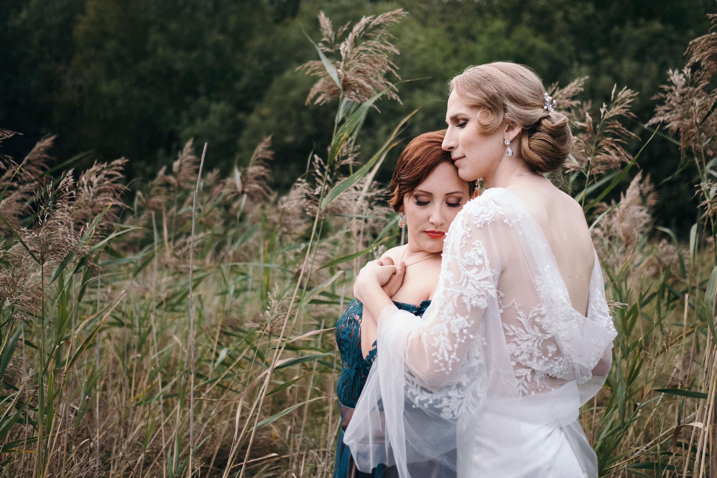 © Fotograf Jonas Burman, wedding, bröllop, brudpar, same sex
